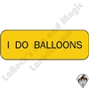 Stickers & Stuff | Pins & Buttons | I Do Balloons pin
