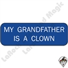 Stickers & Stuff | Pins & Buttons | My Grandfather is a Clown Pin