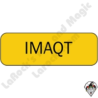 Stickers & Stuff | Pins & Buttons | IMAQT Pin