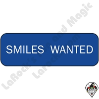 Stickers & Stuff | Pins & Buttons | Smiles Wanted Pin