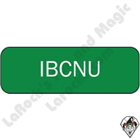 Stickers & Stuff | Pins & Buttons | IBCNU Pin