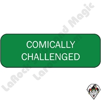 Stickers | Pins & Buttons | Comically Challenged Pin