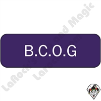Stickers & Stuff | Pins & Buttons | B.C.O.G (Beloved Child of God) pins