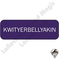 Stickers & Stuff | Pins & Buttons | KWITYERBELLYAKIN Pin