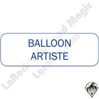 Stickers & Stuff | Pins & Buttons | Balloon Artiste pins
