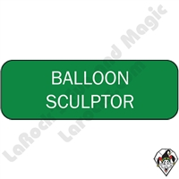 Stickers & Stuff | Pins & Buttons | Balloon Sculptor pins