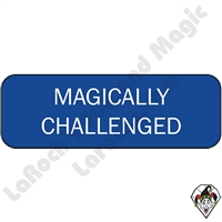 Stickers & Stuff | Pins & Buttons | Magically Challenged Pin