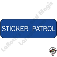 Stickers & Stuff | Pins & Buttons | Sticker Patrol Pin