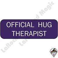 Stickers & Stuff | Pins & Buttons | Official Hug Therapist pin
