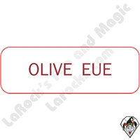 Stickers & Stuff | Pins & Buttons | Olive Eue ( I Love You) pin