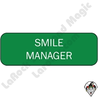 Stickers & Stuff | Pins & Buttons | Smile Manager Pin