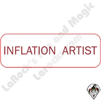 Stickers & Stuff | Pins & Buttons | Inflation Artist Pin