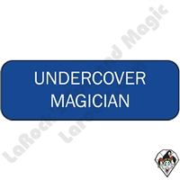 Stickers & Stuff | Pins & Buttons | Undercover Magician Pin
