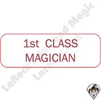 Stickers & Stuff | Pins & Buttons | Class Magician pins