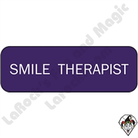 Stickers & Stuff | Pins & Buttons | Smile Therapist Pin
