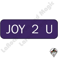 Stickers & Stuff | Pins & Buttons | Joy 2 You Pin