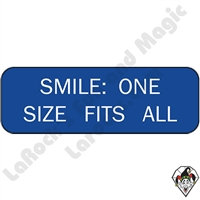 Stickers & Stuff | Pins & Buttons | Smile One Size Fits All Pin