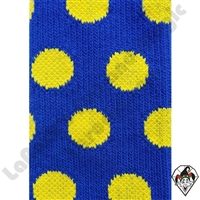 Polka Dot Socks Blue/Yellow Dots