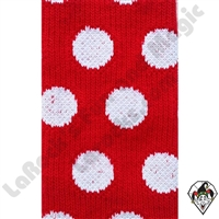 Clowning | Apparel | Clown Socks | Polka Dot Socks | Red/white dots
