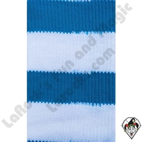 Clowning | Apparel | Clown Socks | Clown Socks Deluxe | Turquoise/White