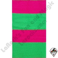 Clowning | Apparel | Clown Socks | Clown Socks Deluxe |  Pink/Lime Green