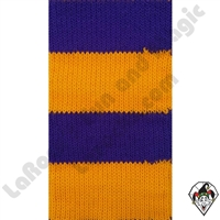 Clowning | Apparel | Clown Socks | Clown Socks Deluxe | Purple/Yellow