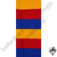 Clowning | Apparel | Clown Socks | Clown Socks Deluxe | Red/Yellow/ Blue
