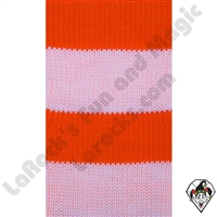 Clowning | Apparel | Clown Socks | Clown Socks Deluxe | Orange/ White