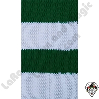 Clowning | Apparel | Clown Socks | Clown Socks Deluxe | Green/White