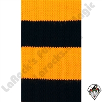Clowning | Apparel | Clown Socks | Clown Socks Deluxe | Black/Yellow
