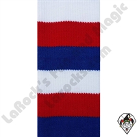 Clowning | Apparel | Clown Socks | Clown Socks Deluxe | Red/White/Blue