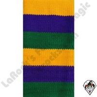 Clowning | Apparel | Clown Socks | Clown Socks Deluxe | Purple/ Yellow/Green