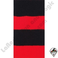 Clowning | Apparel | Clown Socks | Clown Socks Deluxe | Red/Black
