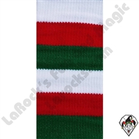Clown Socks Deluxe Red/Green/White