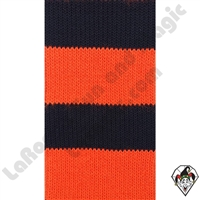 Clowning | Apparel | Clown Socks | Clown Socks Deluxe | Black/Orange