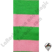 Clowning | Apparel | Clown Socks | Clown Socks Deluxe | LimeGreen/Lt. Pink