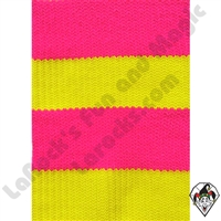 Clowning | Apparel | Clown Socks | Clown Socks Deluxe | Pink/Bright Yellow