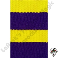 Clowning | Apparel | Clown Socks | Clown Socks Deluxe | Purple/Bright Yellow