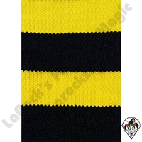Clowning | Apparel | Clown Socks | Clown Socks Deluxe | Black/Bright Yellow