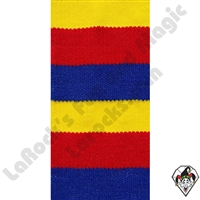 Clowning | Apparel | Clown Socks | Clown Socks Deluxe | Red/Bright Yellow/Blue