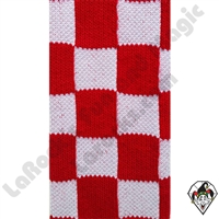 Clowning | Apparel | Clown Socks | Clown Socks Checkered | Red & White