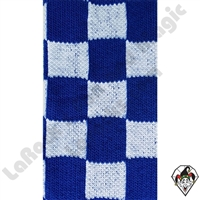 Clowning | Apparel | Clown Socks | Clown Socks Checkered | Blue & White