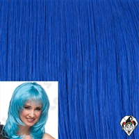 Clowning | Apparel | WIGS | Fantasy Wigs | Dark Blue