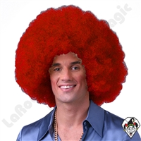 Clowning | Apparel | WIGS | Afro Clown Wigs | Red