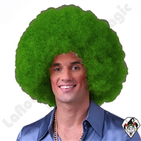 Clowning | Apparel | WIGS | Afro Clown Wigs | Green