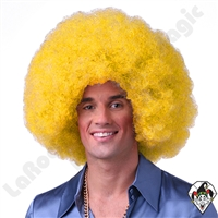 Clowning | Apparel | WIGS | Afro Clown Wigs | Yellow