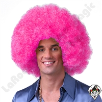 Clowning | Apparel | WIGS | Afro Clown Wigs | Pink