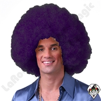 Clowning | Apparel | WIGS | Afro Clown Wigs | Purple