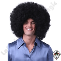 Clowning | Apparel | WIGS | Afro Clown Wigs | Black