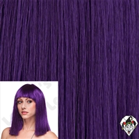 Clowning | Apparel | WIGS | Color Cleo Wigs | Purple